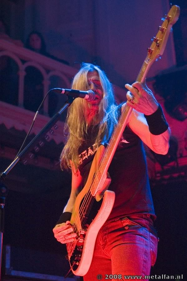 Megadeth, 14-2-2008, Paradiso Amsterdam