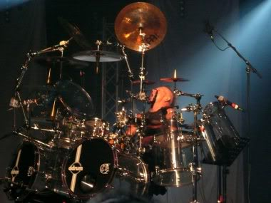 Tarja's drummer Mike Teranna