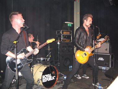 Royal Republic @ Bitterzoet, Amsterdam, 18-10-2010