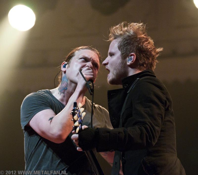 Shinedown @ Paradiso, Amsterdam, 6-2-2012