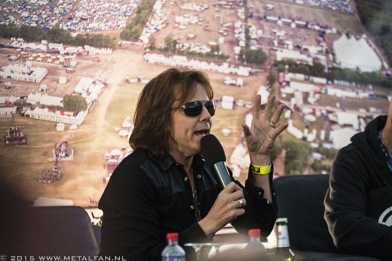 Europe persconferentie @ Wacken Open Air 2015