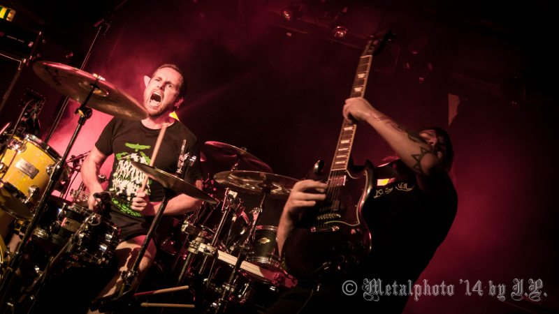 Teethgrinder @ dB's, Utrecht, 7-8-2014